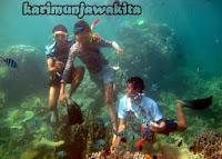 snorkeling rame-rame di karimunjawa