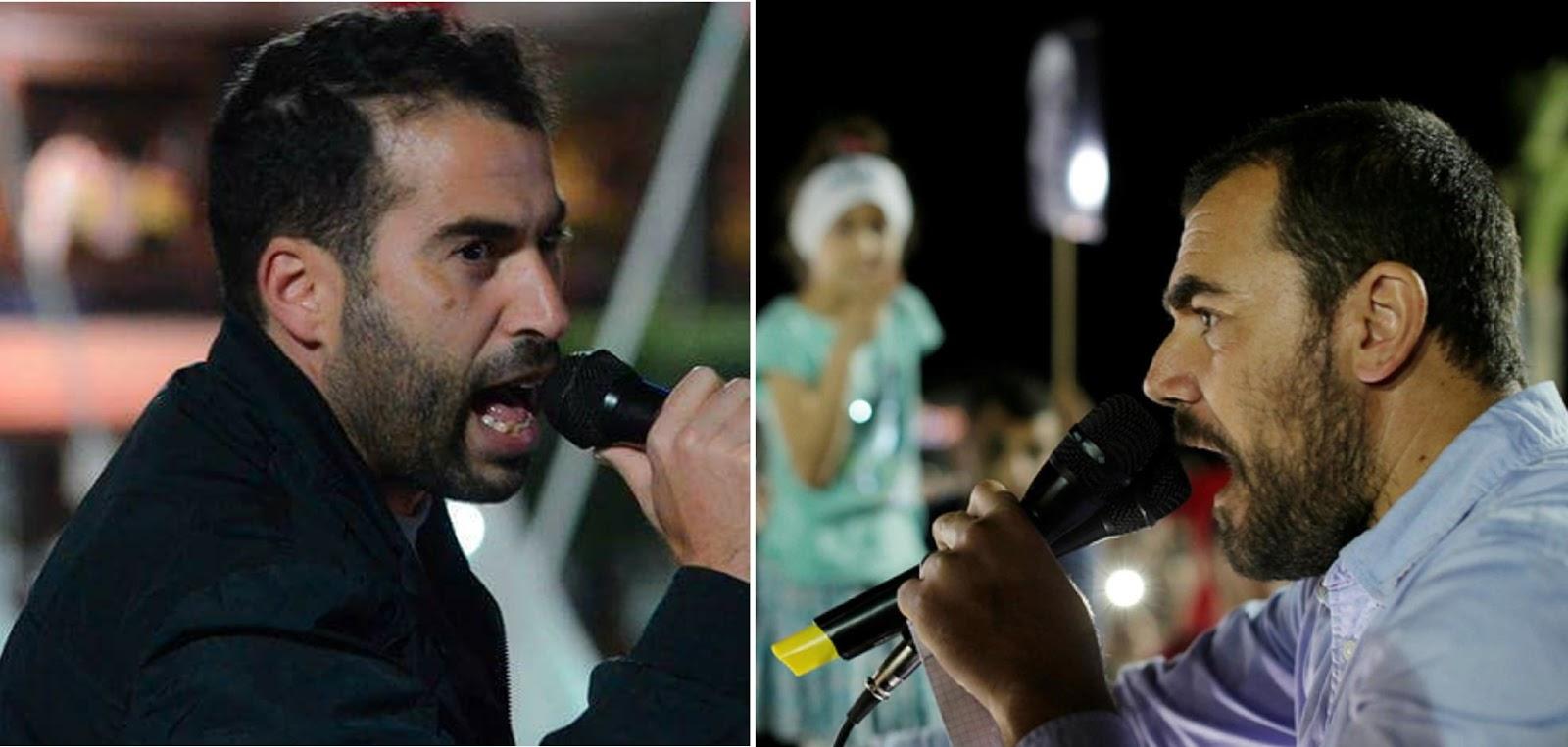 Nabil Ahamjik et Nasser Zefzafi.