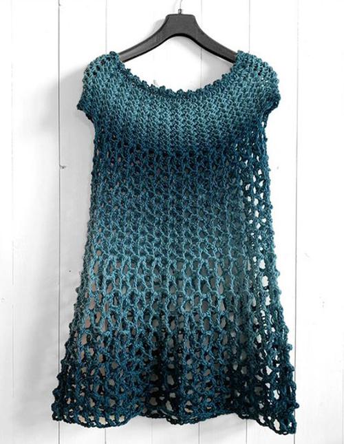 Crochet Poncho Dress - Free Crochet Pattern & Tutorial