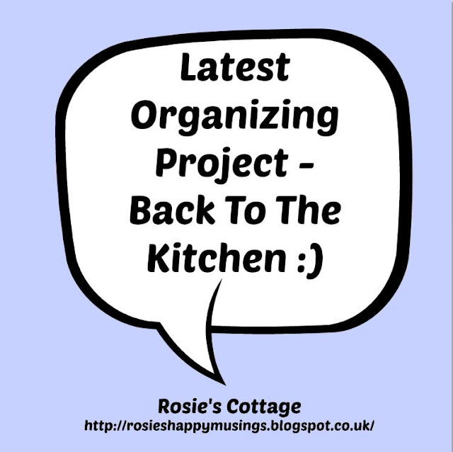 Rosies Latest Organizing Project