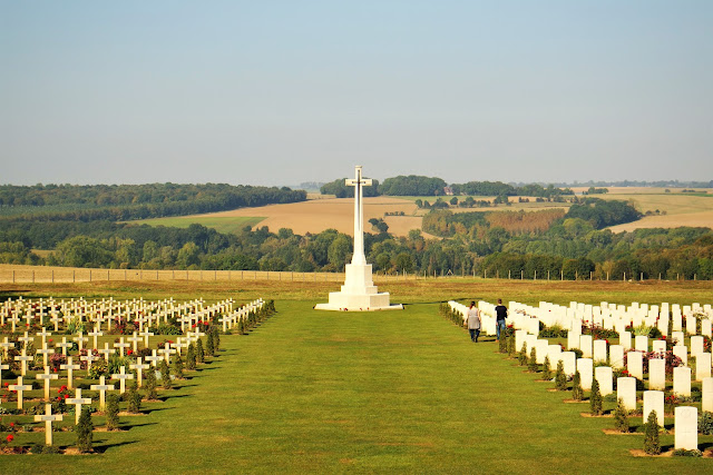 Autumn Battlefields 2019 - Day Three: Cycling the Somme