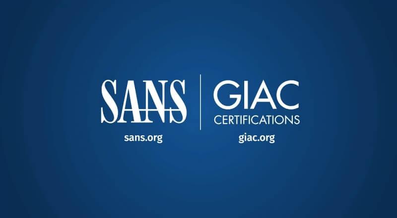 شهادة SANS GIAC