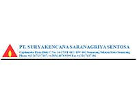 Lowongan Kerja Staff HRD-GA dan Sales Marketing di PT. Suryakencana Saranagriya Sentosa - Semarang