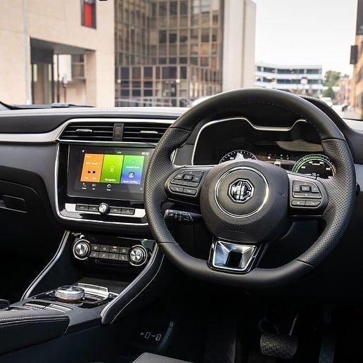 MG ZS EV interior
