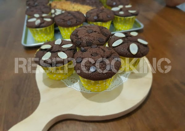 Resep Choco Cupcake Moist Enak