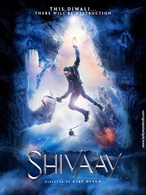 Poster Shivaay 2016 Full Hindi Movie Download 700MB HD x264