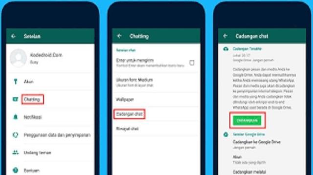 Cara Memindahkan WA iPhone ke Android