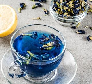الشاي الأزرق