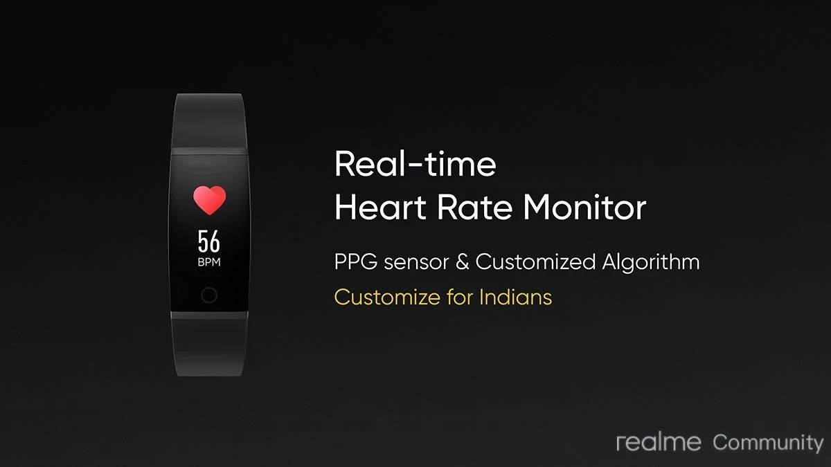 Realme Band Specification