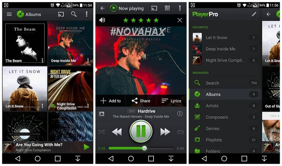 PlayerPro Music Player 5 3 build 188 APK [Patched] | Novahax
