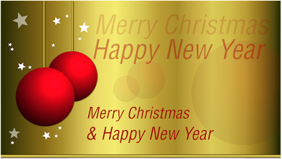 Short Christmas and New Year Wishes Saying