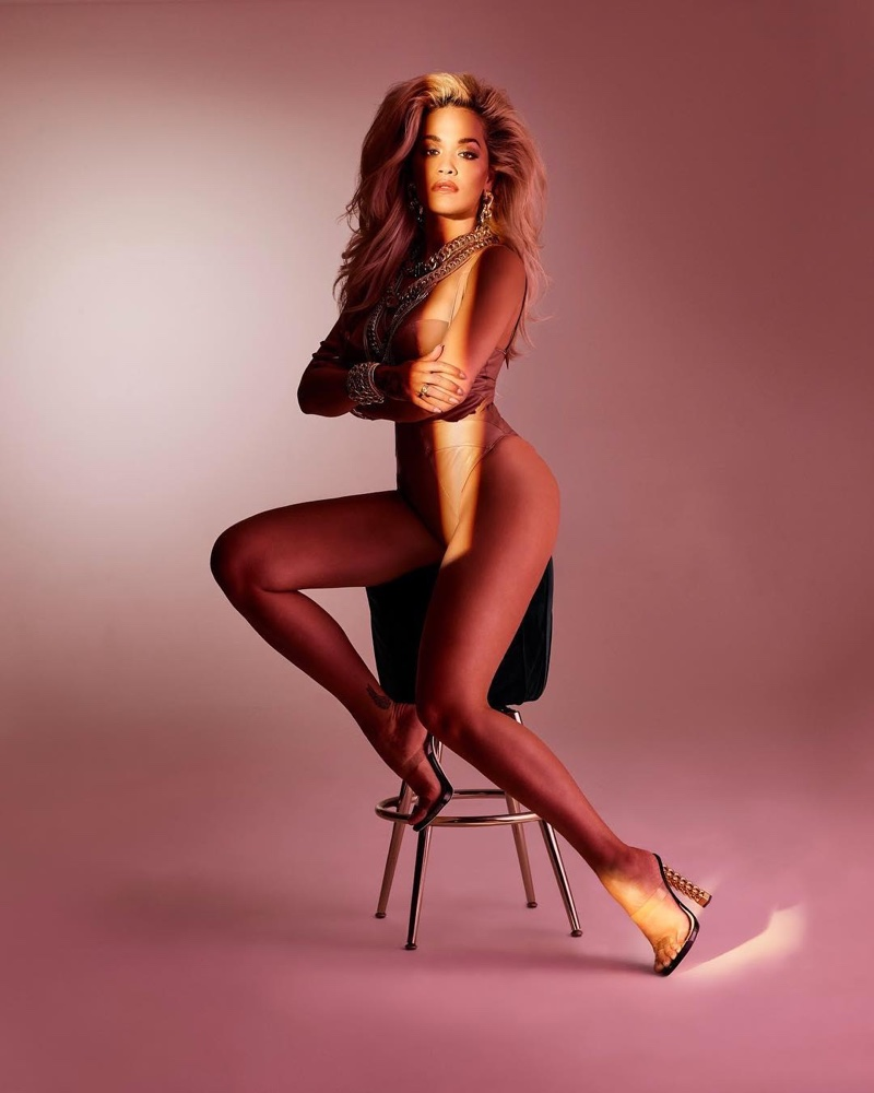 Giuseppe Zanotti x Rita Ora Transparent Strap Sandal