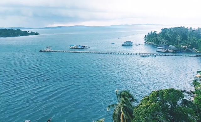 View dari Menara Pulau Tunjuk