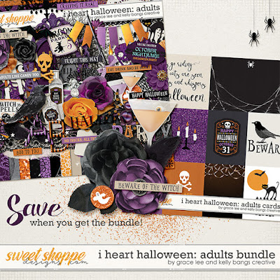 I Heart Halloween: Adults Bundle
