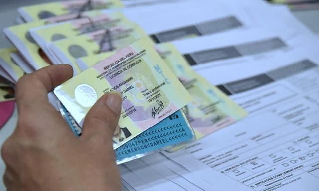 Revalidar licencia de conducir en Lima