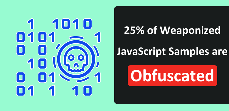 Almost 25% of Weaponized JavaScript Samples are Obfuscated To Evade Detection