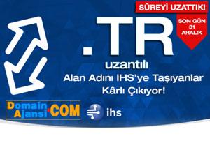 İHS'den Ucuz TR Domain Transfer Kampanyası