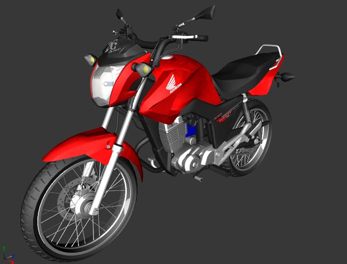 Gta Sa Cg Fan 150 Edit R3d Gta Mods