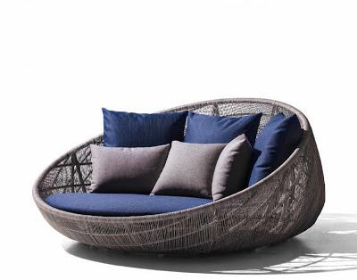 Canasta il divano da esterno idea arredo for Divani da esterno