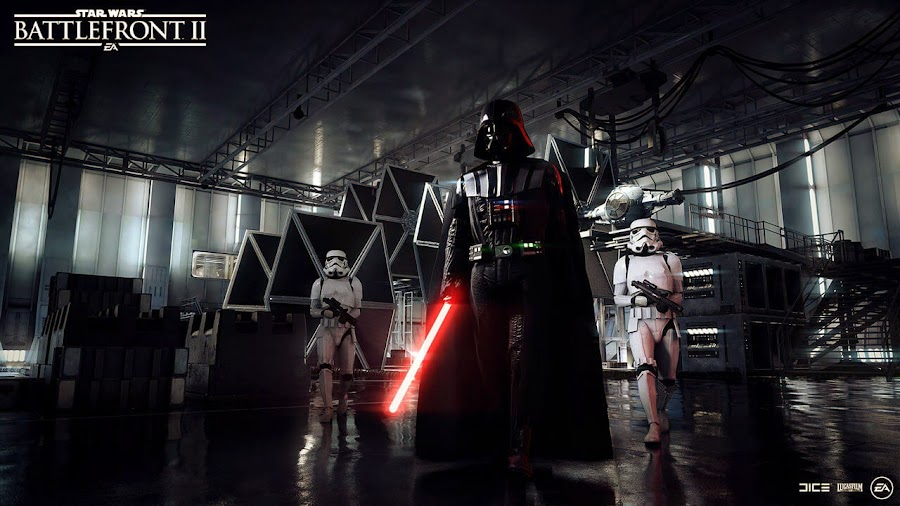 star wars battlefront II darth vader
