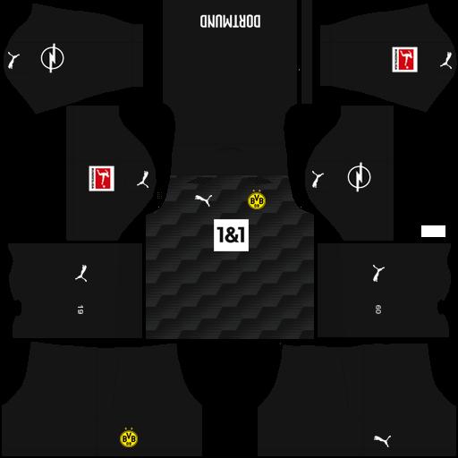 Kits Uniformes Para Fts 15 Y Dream League Soccer Kits Uniformes Borussia Dortmund Bundesliga 2020 2021 Fts 15 Dls