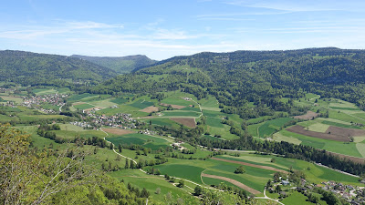 Ausblick oberhalb von Belprahon