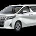 Warna Toyota New Alphard 2018