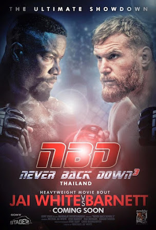 Poster Of Never Back Down: No Surrender In Dual Audio Hindi English 300MB Compressed Small Size Pc Movie Free Download Only At worldfree4u.com