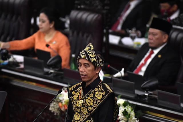 Ini Naskah Pidato Lengkap Presiden Jokowi Ketika Sidang Tahunan MPR-RI