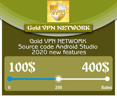 Gold VPN NETWORK Source code Android Studio - 1