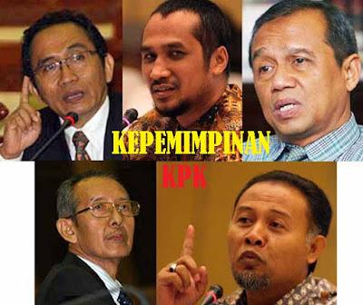 Nama - nama pemimpin KPK beserta periode jabatannya - berbagaireviews.com