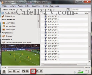 Sports IPTV M3u Playlist 15/06/2019 - Frequence Tv