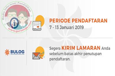 Penerimaan Karyawan Baru Perum BULOG Lulusan SMK, D3 dan S1 Januari 2019