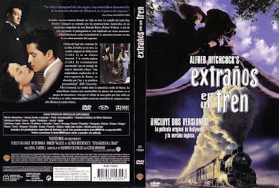 Carátula dvd: Extraños en un tren (1951) Strangers on a Train