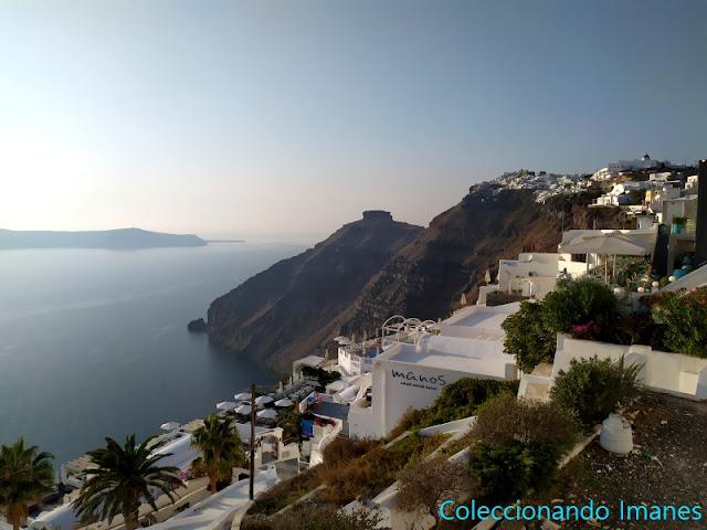 La mejor zona para alojarse en Santorini