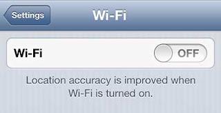 matikan wifi