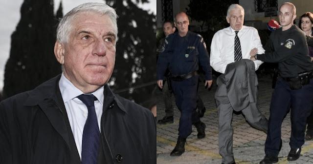 Παραμένει στη φυλακή ο Γιάννος Παπαντωνίου – Απορρίφθηκε η αίτηση αποφυλάκισης και παρατάθηκε η κράτησή του