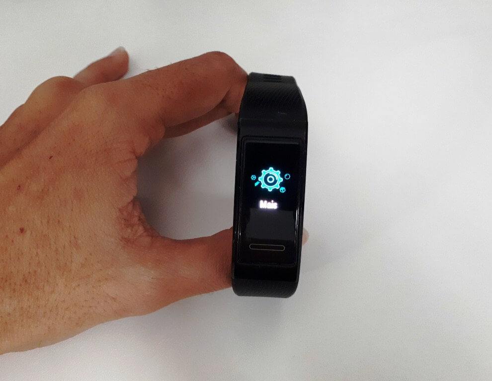smartband com GPS