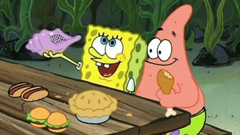spongebob episode kulit kerang ajaib