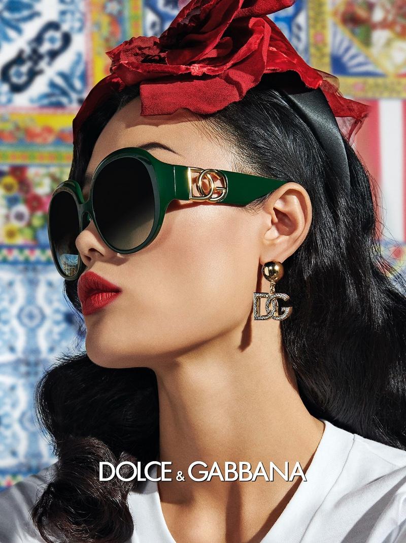 Dolce & Gabbana Eyewear's spring 2021 advertising campaign