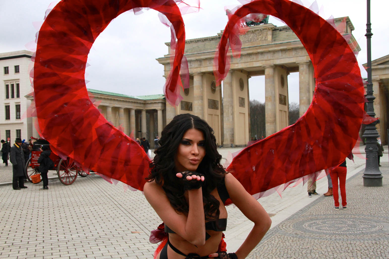Micaela Schaefer Is An Early Valentines Day Gift