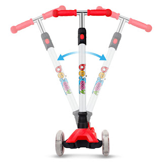 adjustable scooter, scooter for kids, kids love to scoot, scooter, 3-wheel scooter