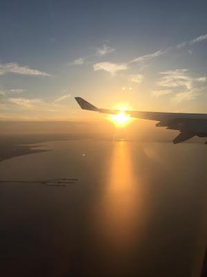 Virgin atlantic flight to new york city