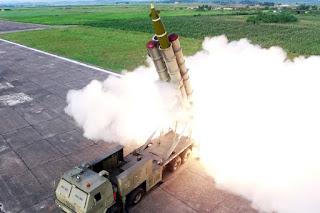 Korut Uji Coba Peluncur Roket Ganda
