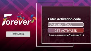 تطبيق Forever IPTV مدفوع مع كود لتفعيله جميع القنوات المشفرة العربية و الافلام و المسلسلات مجانا