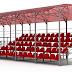 Для стадіону «Спартак» закуплять дві модульні трибуни