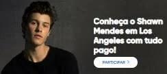 Promoção Bradesco Music Ingressos Show Shawn Mendes - Conhecer o Cantor