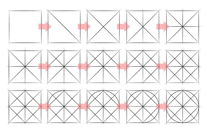 Latihan bentuk dan gambar garis