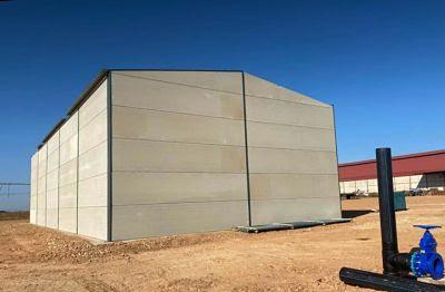 Nave modular o almacen prefabricado en Cáceres