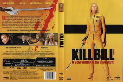 Filme Kill Bill - Volume 1 DVD Capa